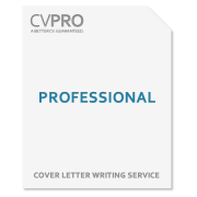 Professional - Cover Letter Writing Service