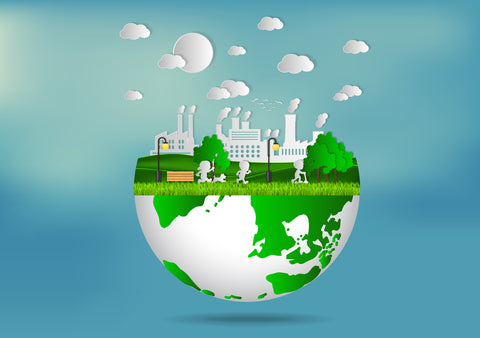 Eco-Ecommerce: Why You Should Sell Eco-Friendly Products eco friendly factory on earth