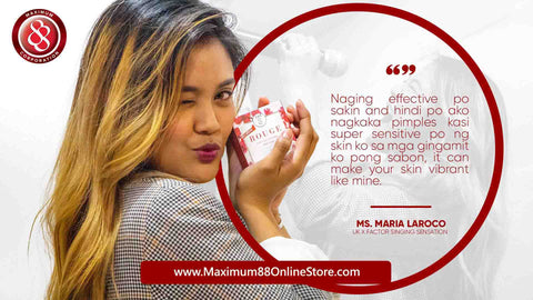 Maximum 88 Online Combo F Set Rouge Glutagen Soap Lotion