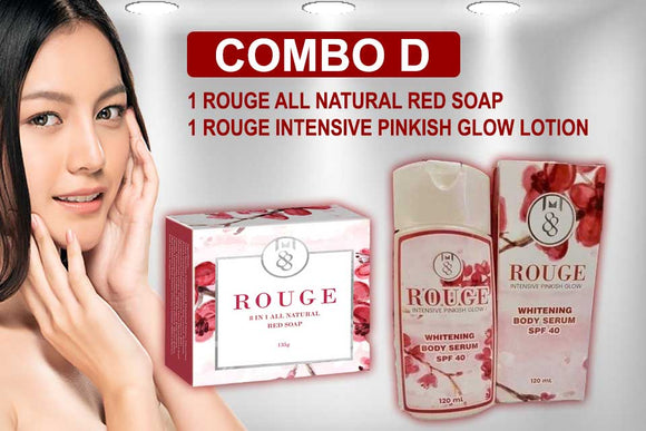 Maximum 88 Online Combo D Set Rouge Soap Lotion