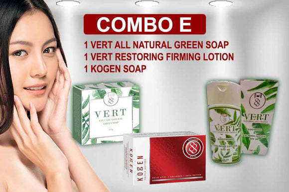 Maximum 88 Online Combo E Set Vert Kogen Soap Lotion