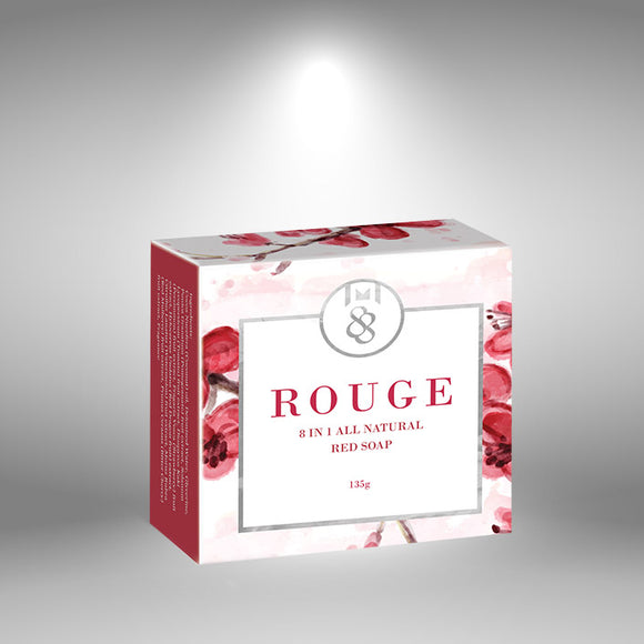 ROUGE 8-IN-1 ALL NATURAL RED SOAP