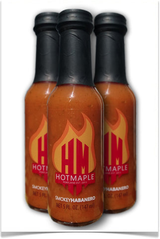 Hotmaple Hot Sauce:  3-pack or 12-pack
