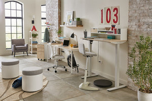 "<b>Height-Adjustable 48"" W Desk</b><br><i>Brite Collection</i>"