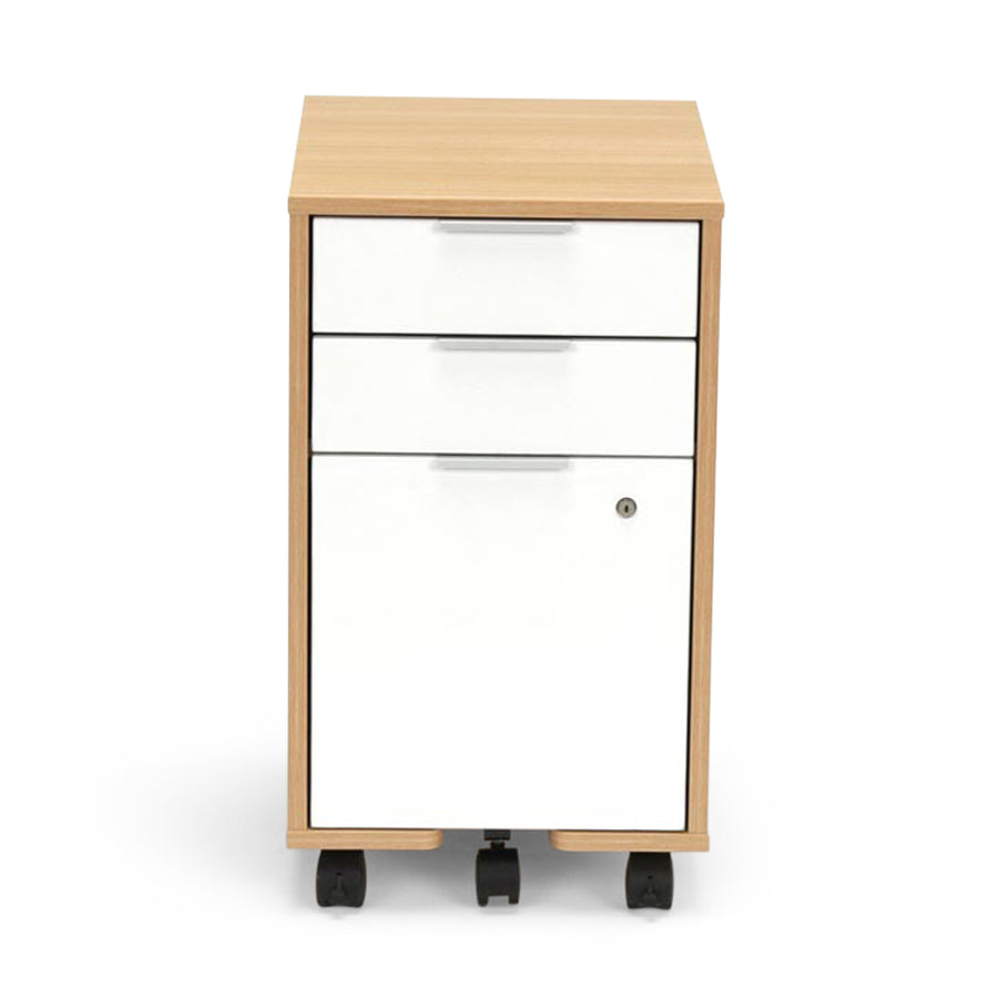 <b>Three-Drawer Mobile File Pedestal</b><br><i>Freya Collection</i>