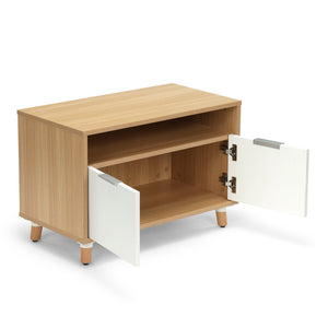 "<b>Low Storage Cabinet - 30"" W</b><br><i>Freya Collection</i>"