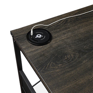 "<b>Weathered Oak Desk - 60""W</b><br><i>Axle Collection</i>"