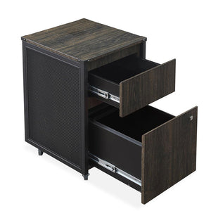 <b>Two-Drawer Mobile File Pedestal</b><br><i>Axle Collection</i>