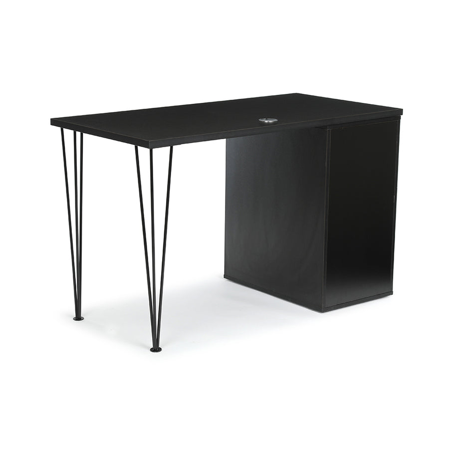 "<b>Hairpin Leg and Open Storage Desk - 48"" W</b><br><i>Maker Collection</i>"