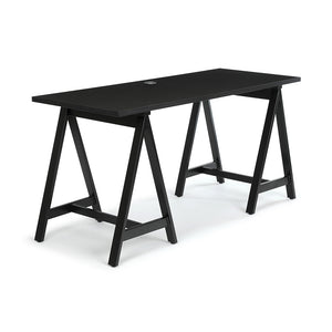 "<b>Sawhorse Leg Desk - 60"" W</b><br><i>Maker Collection</i>"