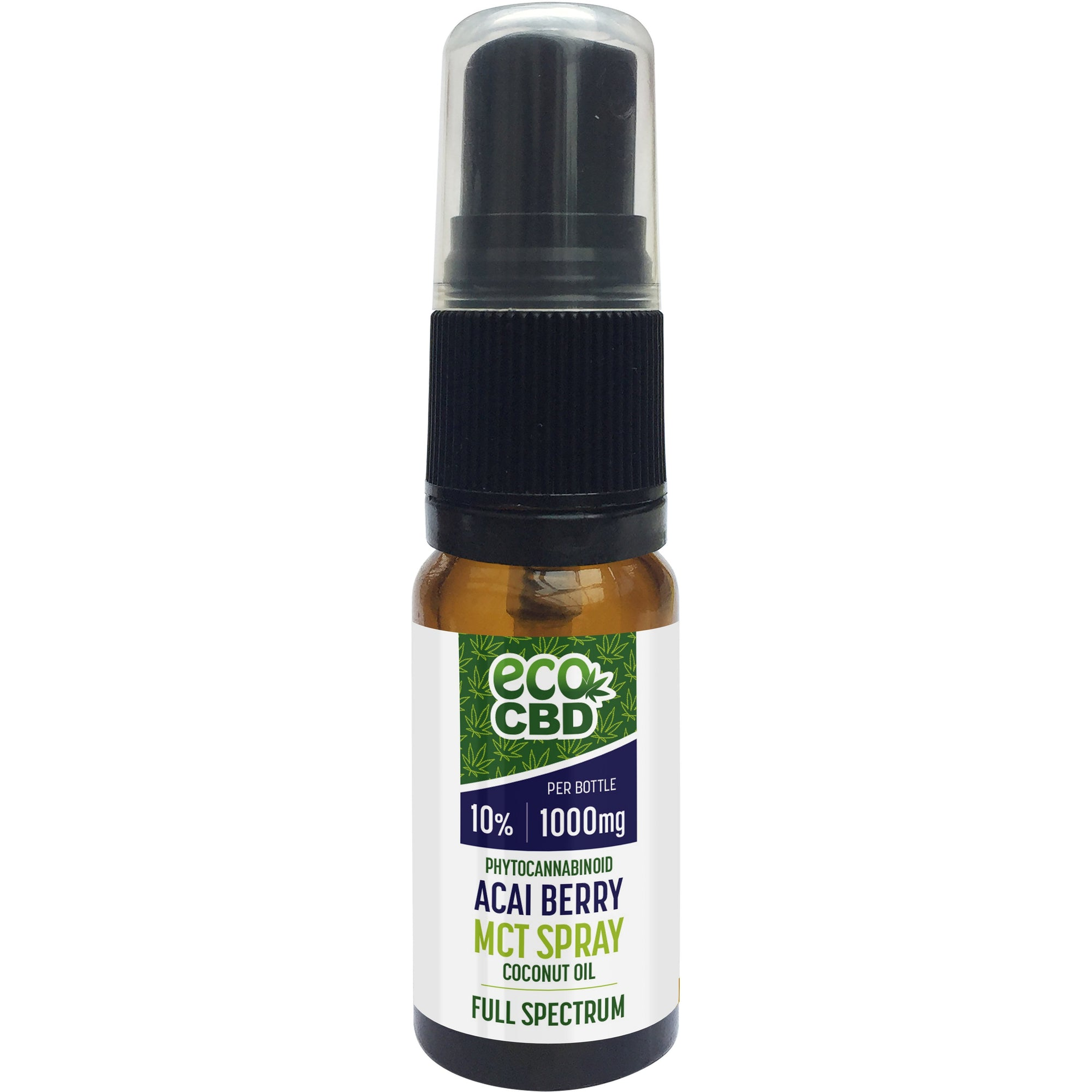 CBD Flavoured MCT Spray - 1000mg - Acai - Black Cherry - Blackcurrent - Goji Berry - Inspired Life CBD