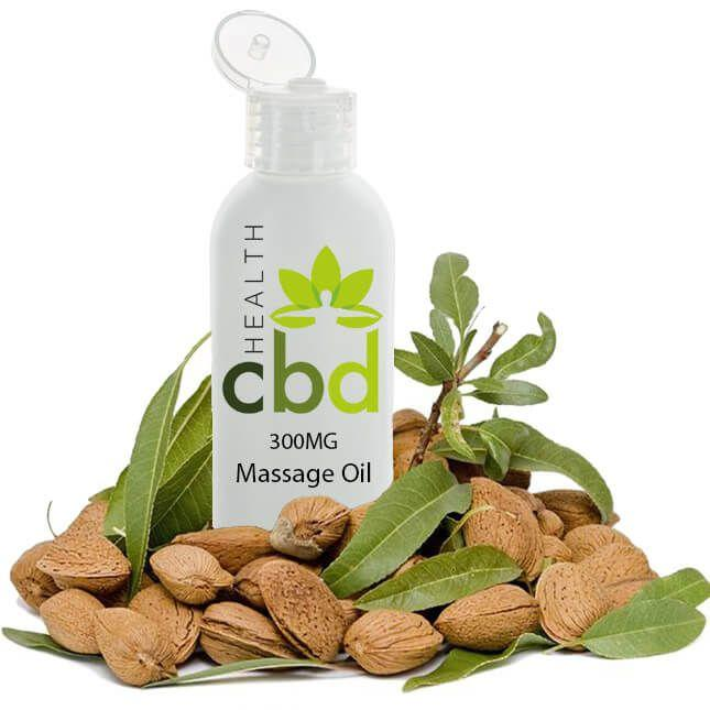 CBD Massage Oil 300mg - Inspired Life CBD