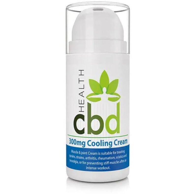 CBD Menthol Cooling Cream - 300mg CBD - 300ml - Inspired Life CBD