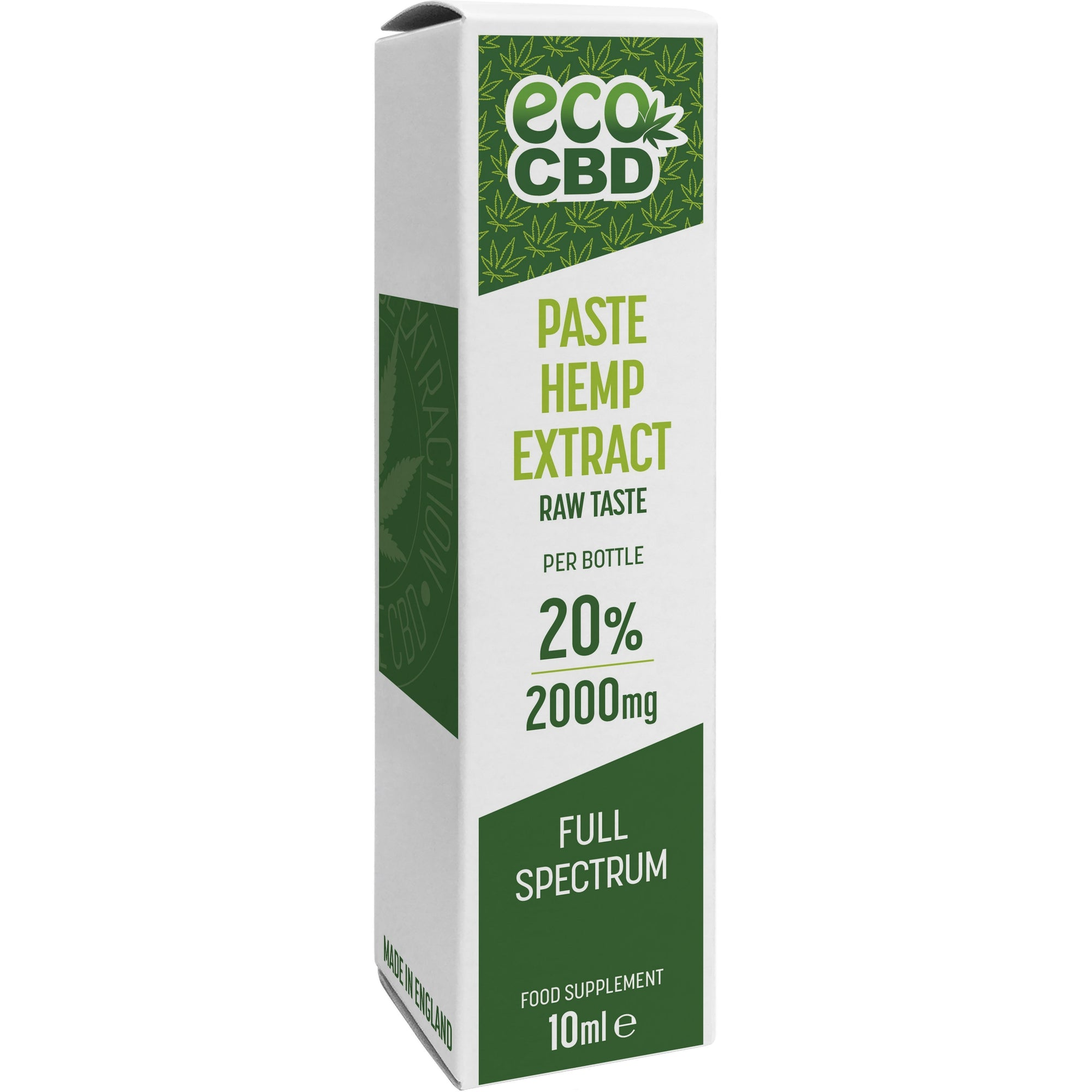 CBD Raw Hemp Extract - Full Spectrum - 2000mg - Inspired Life CBD