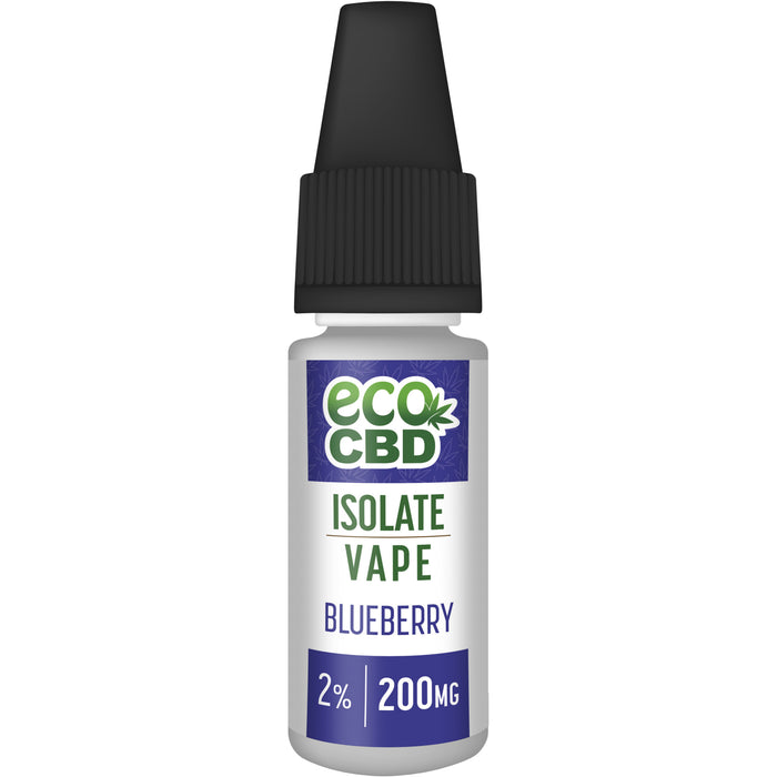 Eco CBD Isolate CBD Vapes 10ml - Inspired Life CBD