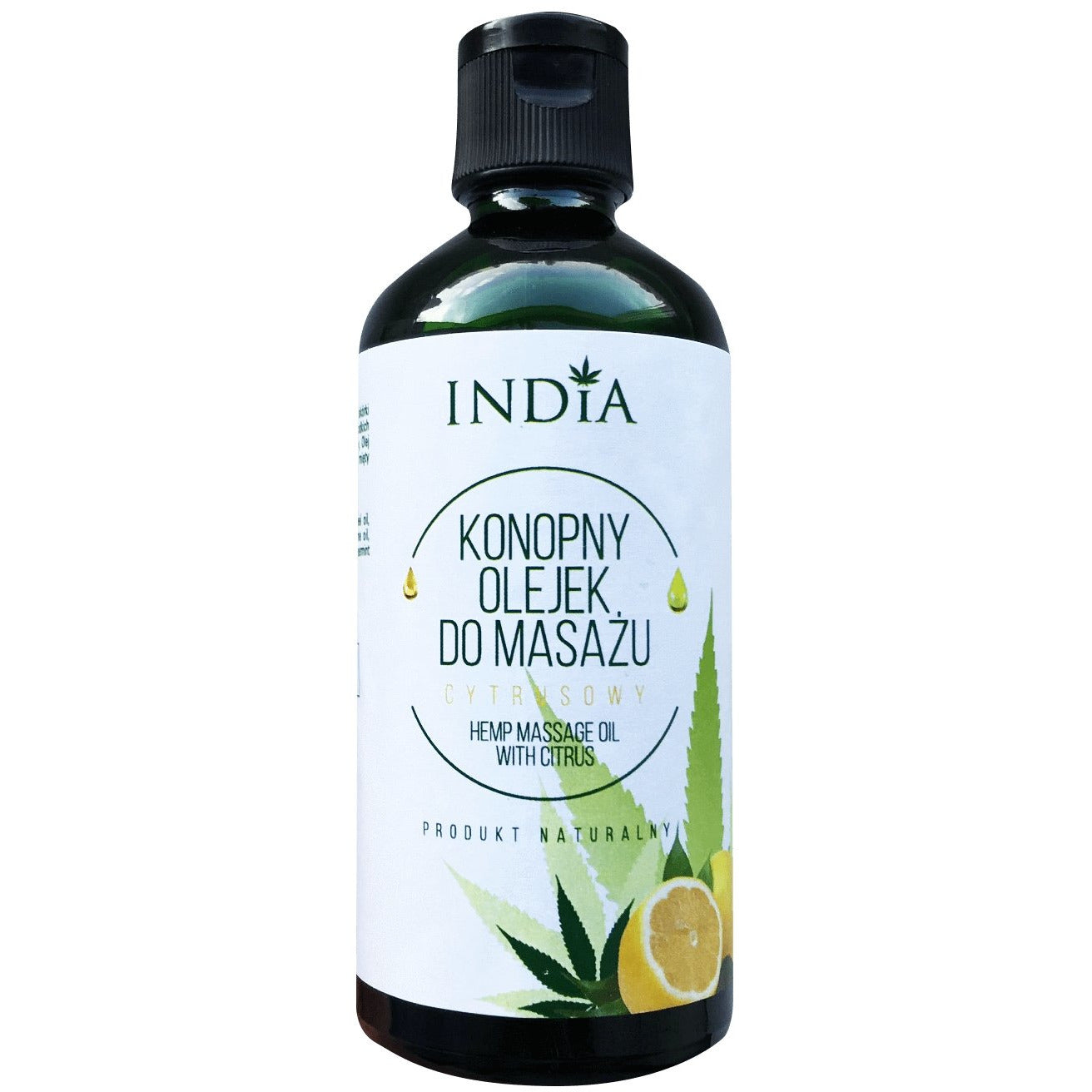Hemp Citrus Massage Oil - 100ml - Inspired Life CBD