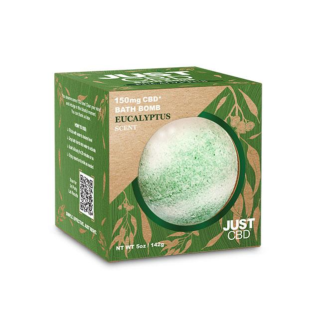 JustCBD - CBD Bathbombs - 150mg CBD - Inspired Life CBD