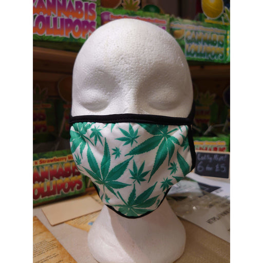 Marijuana Cannabis Leaf Face Masks - Inspired Life CBD