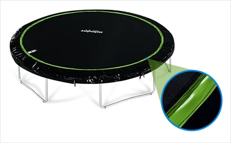 zupapa trampoline safest NO-GAP jumping mat