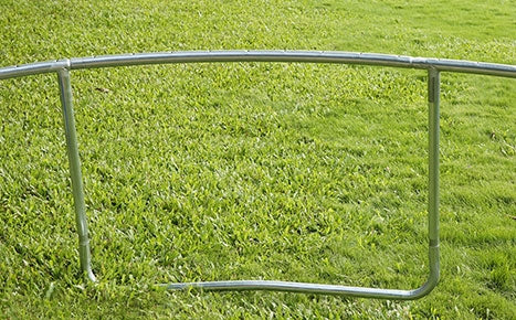 zupapa trampoline real heavy duty steel frame