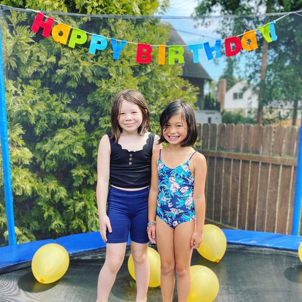 Birthday party on a Zupapa trampoline