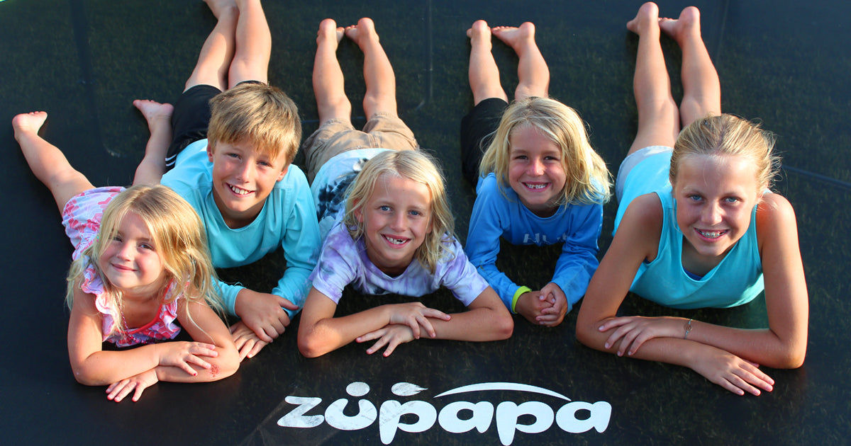 enjoy jumping and bouncing on Zupapa Trampoline