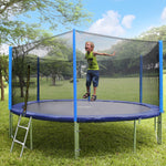 [IN STOCK] Zupapa 14 FT Trampoline for Kids with Safety Enclosure Net