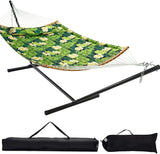 12FT Curved Bar Hammock with Stand (2 Colors Available)
