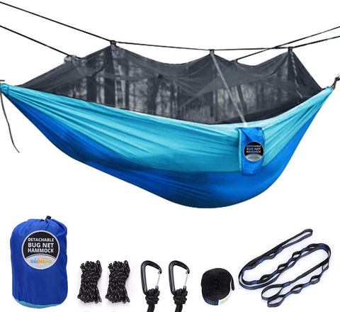 Zupapa Double Camping Hammock with Mosquito Net