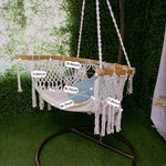 Handmade Knitted Hammock Swing Chair Size
