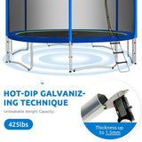 ZUPAPA [HOT SALE] 2021 Upgraded Saffun 8-15FT Trampoline