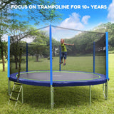 Zupapa focus on trampoline for 10+years