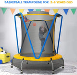 Basketball trampoline