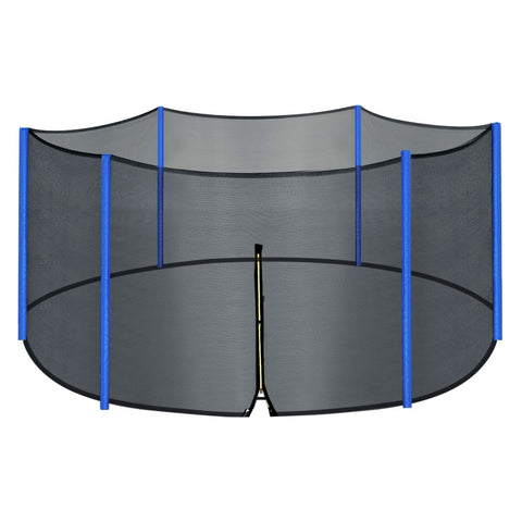 Zupapa Trampoline 12FT Safety PE and Outside Enclosure Net