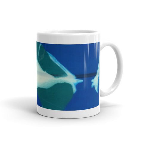 RESIN ABSTRACT COFFEE MUG