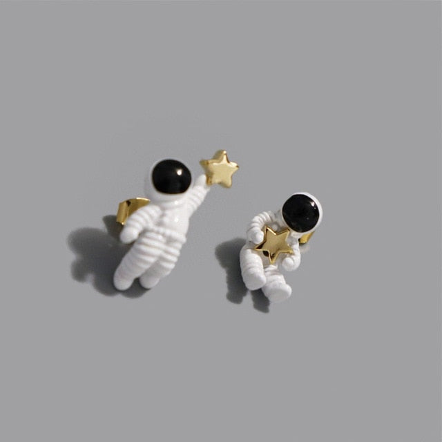 Space Astronaut with a star