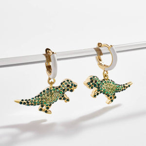 Dino Hoop Earrings