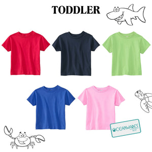 FEARLESS GIRL Toddler Tee