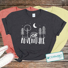 Load image into Gallery viewer, Adventure, Trailer, Camping Shirt
