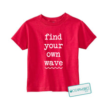 Load image into Gallery viewer, Find your WAVE Toddler Tee