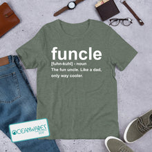 Load image into Gallery viewer, FUNCLE, Uncle Shirt