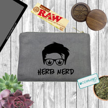 Load image into Gallery viewer, Herb Nerd, Stash Bag, Makeup Bag, Weed,
