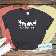 Load image into Gallery viewer, Keep them wild Shirt,
