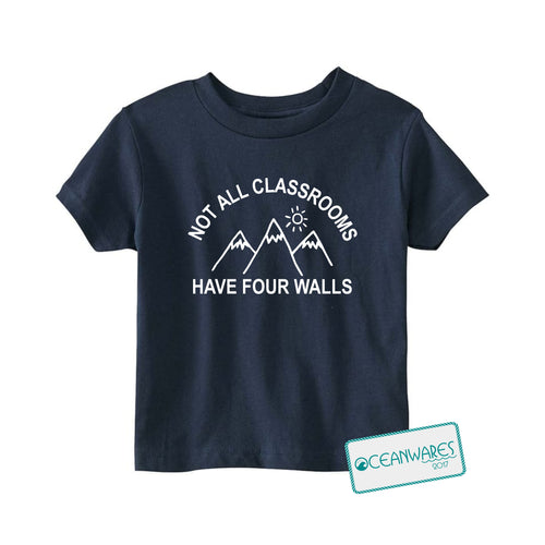 Not all classrooms have four walls Toddler Tee