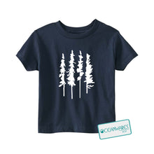 Load image into Gallery viewer, Skinny Trees Toddler Tee