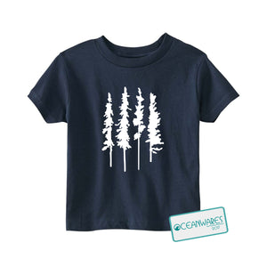 Skinny Trees Toddler Tee