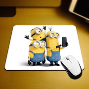 New Small Size Computer desktop Minions Mouse Pad Non-Skid Rubber Pad 220mmX180mmX2mm and 250mmx290mmx2mm Mouse Pads