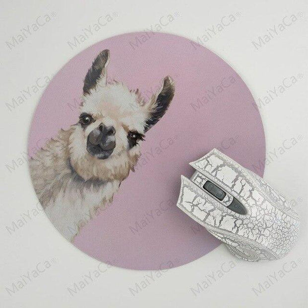 New Designs Llama Large  Mouse pad PC Computer mat New Personalized print Mousepad