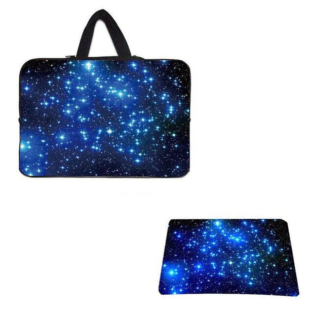 "PC Laptop Bags For Apple Xiaomi LapBook 15.6 10"" Tablet 10.1 12 13 14 17"" Notebook Briefcase + Rubber Mouse Pad Gaming Mousepad"