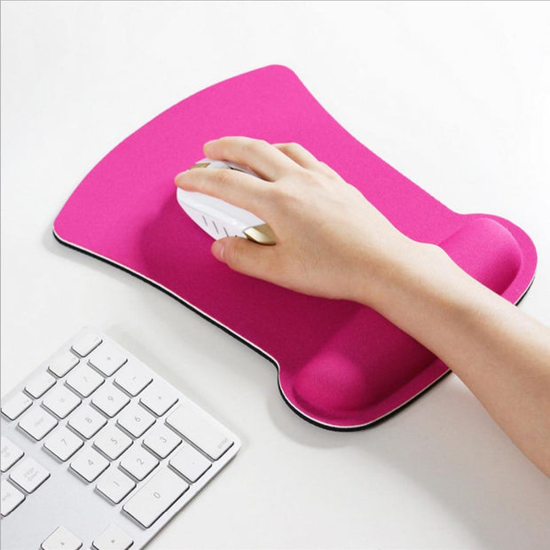 Thicken Soft Sponge Wrist Rest Mouse Pad For Optical/Trackball Mat Mice Pad Computer Durable Comfy Mouse Mat